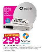 Special Star Sat HD Decoder Installed — www guzzle co za