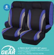 1st Gear 6 Piece Seat Cover Set 880907