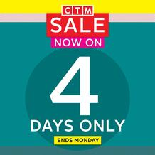 CTM : Sale (14 August - 17 August 2020)