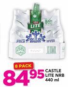 Special Castle Lite NRB-8 x 440ml — www guzzle co za