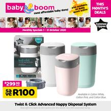 Baby Boom : Monthly Specials (01 October - 31 October 2020)