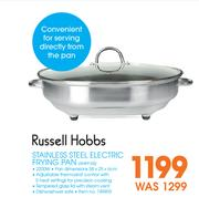 Special Russell Hobbs Stainless Steel Electric Frying Pan