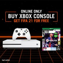 Sportscene : X Box Console And Get A FREE Fifa 21 (09 October - 18 October 2020)