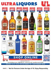 Ultra Liquors : Liberty Liquor (20 October - 03 November 2020)