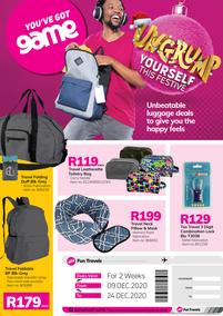 Game Luggage : Ungrump Yourself This Festive (9 December - 24 December 2020)