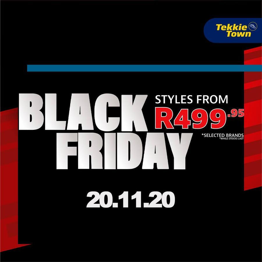 Tekkie Town : Black Friday (20 November