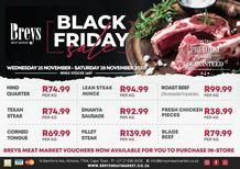 Breys Meat Market : Black Friday Sale (25 November - 28 November 2020)
