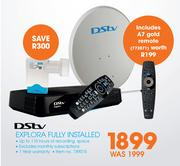 DSTV Explora Fully Installed