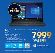 Dell Intel Core i5 Notebook 3567