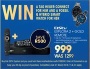 DSTV Explora 2+Gold Remote