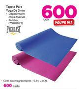 0fd852ce2 Special Everlast Tapete Para Yoga de 3mm cada — www.guzzle.co.za