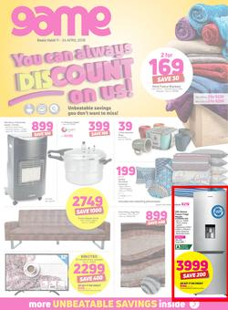Game : You Can Always Discount On Us (11 April - 24 April 2018), page 1