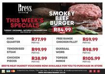 Breys Meat Market : This Week's Specials (01 December - 05 December 2020)