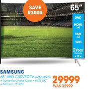 "Samsung 65"" UHD Curved TV 65MU8500"