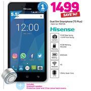 Special Hisense Dual Sim Smartphone T5 Plus With Bluetooth