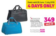 f8def7215d Special Voyager Fusion 55cm Black Turquoise Duffle Bag-Each — www ...