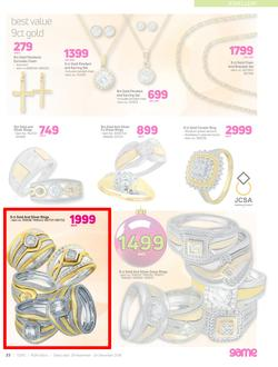Special 9ct Gold And Silver Rings Each Www Guzzle Co Za