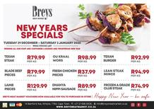 Breys Meat Market : New Years Specials (29 December - 02 January 2021)