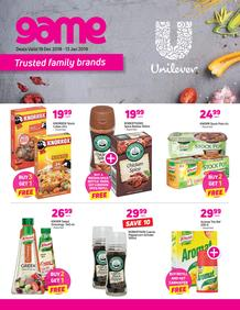 Game Unilever : Trusted Family Brand (19 Dec 2018 - 13 Jan 2019)