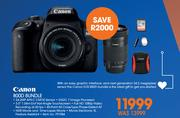 Canon 800D Bundle