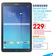 "Samsung Galaxy Tab E 9.6"" 3G Wifi Tablet-On My Gig 1"