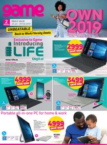 Game : Unbeatable Back To Work/Varsity Deals (23 Jan - 5 Feb 2019)