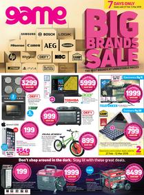 Game : Big Brands Sale (27 Feb - 5 March 2019)