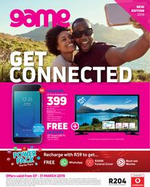 Game Vodacom : Get Connected (7 Mar - 31 Mar 2019)