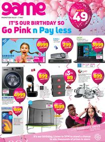 Game : Go Pink n Pay Less (1 May - 7 May 2019)