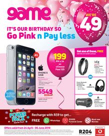 Game Vodacom : Go Pink n Pay Less (24 Apr - 6 June 2019)