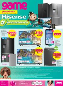 Game Hisense : Hisense For You (29 May - 11 June 2019)