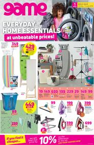 Game : Everyday Home Essentials (29 May - 11 June 2019)