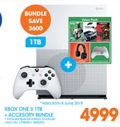 Xbox One S 1TB + Accessory Bundle