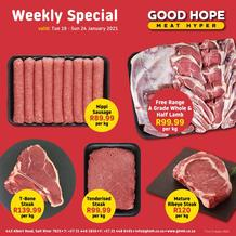 Good Hope Meat Hyper : Specials (19 January - 24 January 2021)