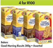 Bakers Good Morning Biscuits Assorted-4 x 300g