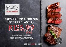 Excellent Meat Market : This Week's Specials (25 January - 31 January 2021)