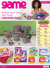 Game : Laundry Catalogue (22 Jan - 4 Feb 2020)