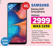 Samsung Galaxy A20 Smartphone Plus Free Power Pack