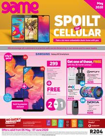 Game Vodacom : Spoilt For Cellular (6 May - 7 June 2020)