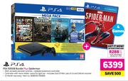 PS4 500GB Budle Plus Spiderman