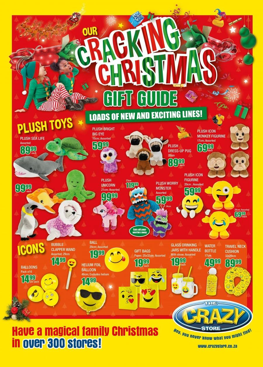 Christmas Gift Guide Catalogue.The Crazy Store Cracking Christmas Gift Guide 01 Nov 24