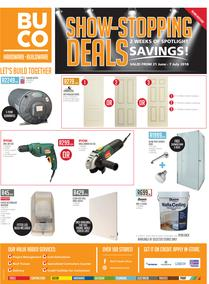 Buco Inland : Show Stopping Deals (21 June - 7 July 2018)