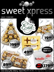 Sweet Xpress : Eid Mubarak (01 May - 15 May 2021)