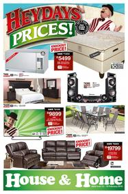 House & Home : Heydays Prices (12 Feb - 18 Feb 2018), page 1