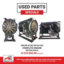 SAC Commercial Parts : Used Part Specials (03 May - 09 May 2021)