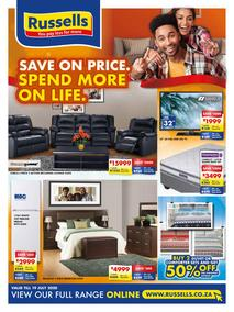 Russells : Save On Price. Spend More On Life (22 June - 19 July 2020)