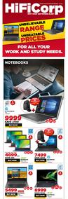 HiFi Corp :  Our Wide Range Of Laptops (28 July - 31 July 2020)