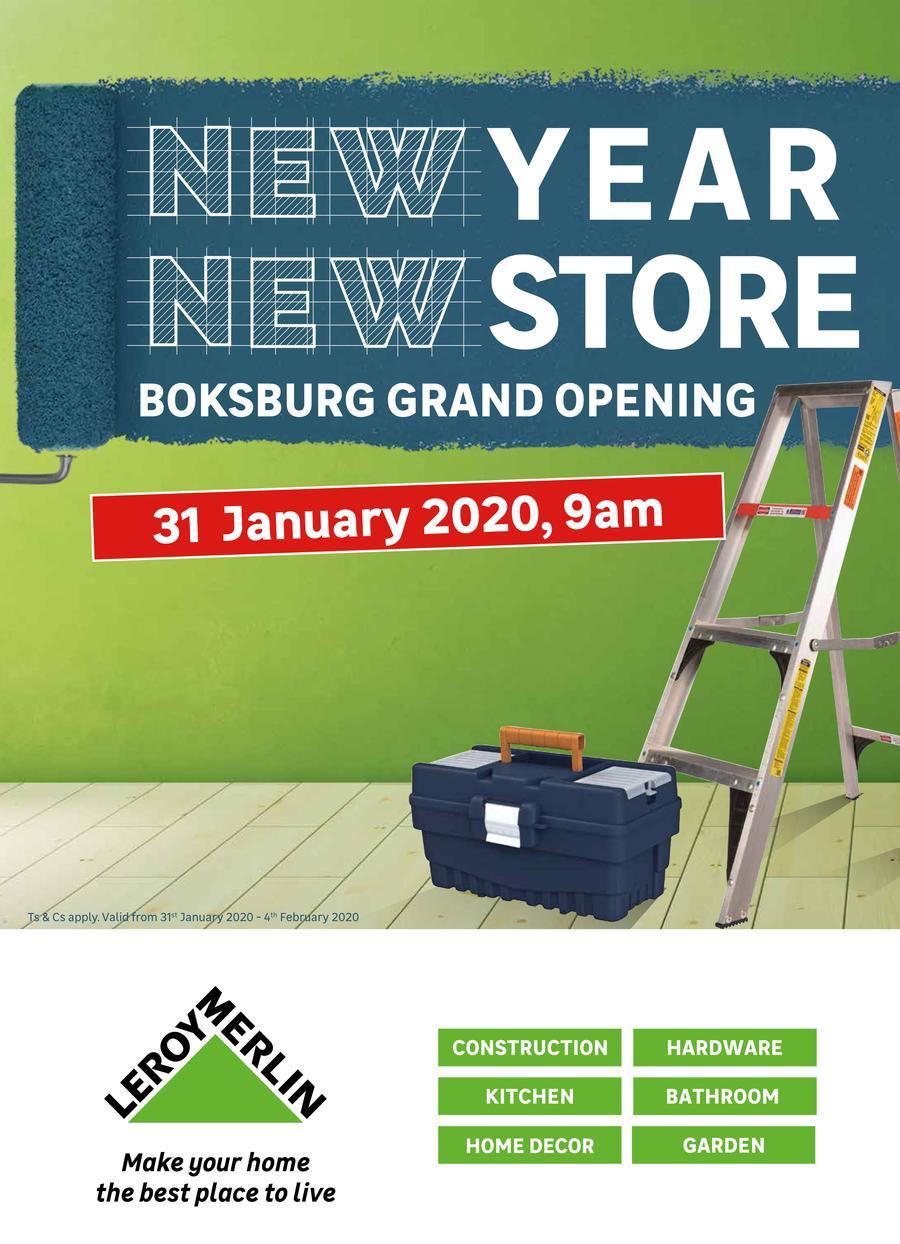 Leroy Merlin Boksburg Grand Opening 31 Jan 4 Feb 2020 Www Guzzle Co Za