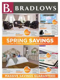 Bradlows : Spring Savings (15 August - 19 September 2020)