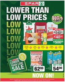 SPAR COUNTRY EASTERN CAPE : Lower Than Low Prices (23 February - 7 March 2021)